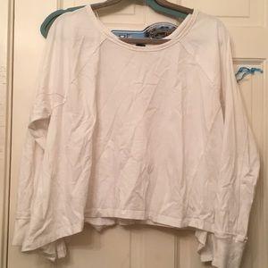 Oversized sweatshirt/long sleeve